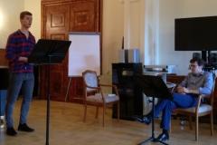 2. Gesangsworkshop mit Kamingespräch