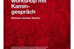 3.Gesangsworkshop mit Kamingespräch_Plakat
