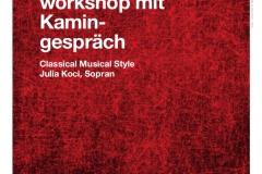 Gesangsworkshop mit Kamingespräch Koci 2