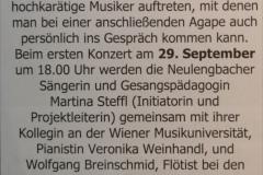Konzert mit Kamingespräch_Neulengbach