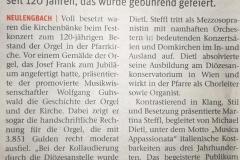 Orgeljubiläum_Neulengbach_Kritik