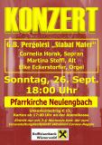 "G.B. Pergolesi ""Stabat Mater""  Pfarrkirche Neulengbach, September 2021"