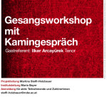 Workshop und Kamingespraech Flyer
