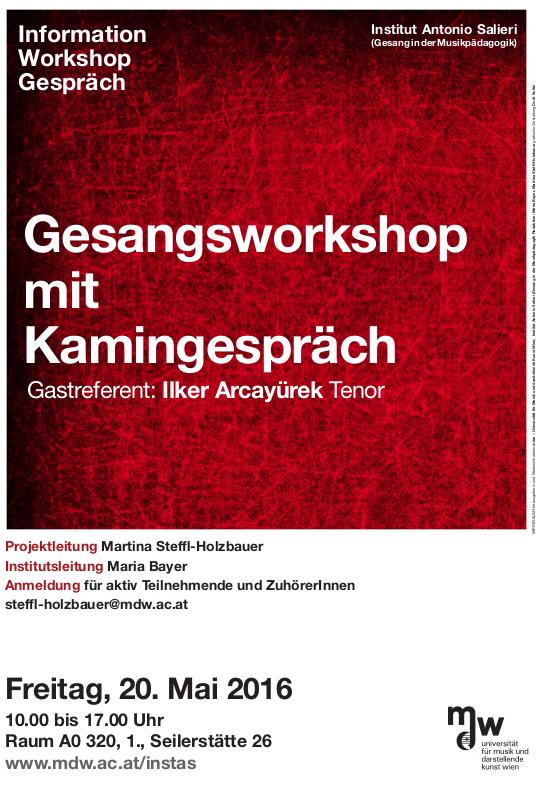 Workshop und Kamingespraech Flyer